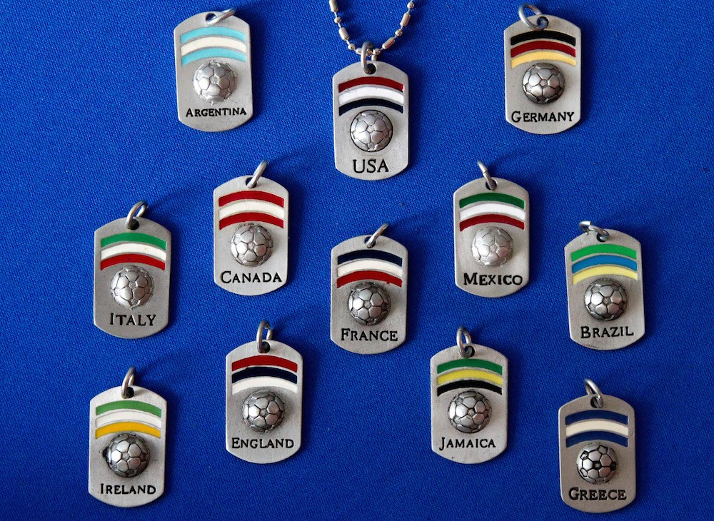 Country Dog Tags