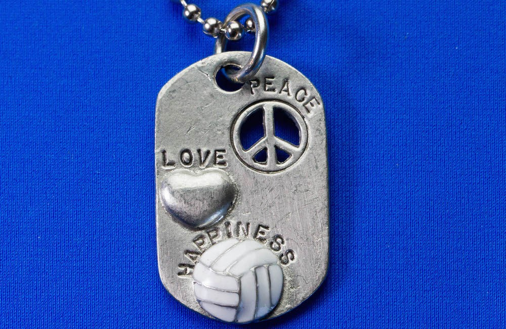 Love, peace, happiness Pendent