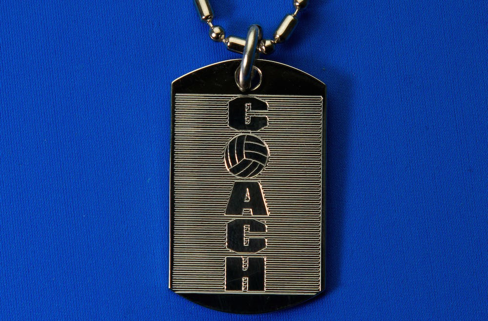 Engraved Coach Pendent