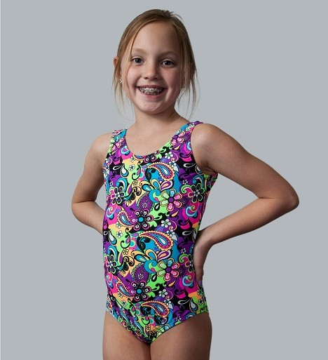 Flower Power Tank Leotard