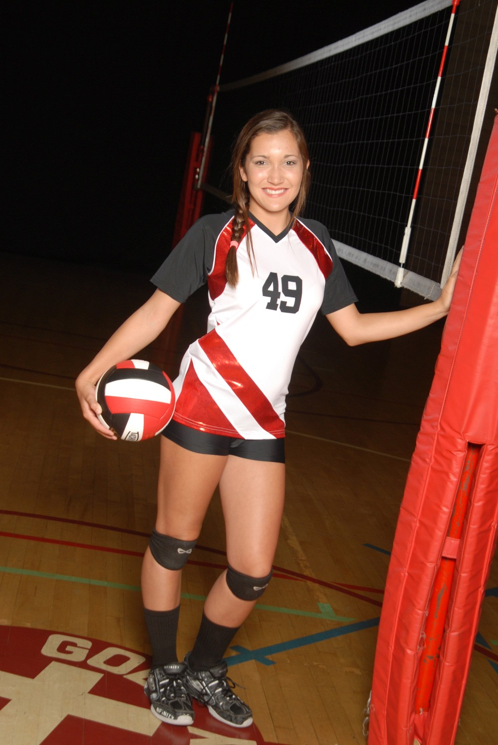 the gallery for gt middle school girls in volleyball shorts