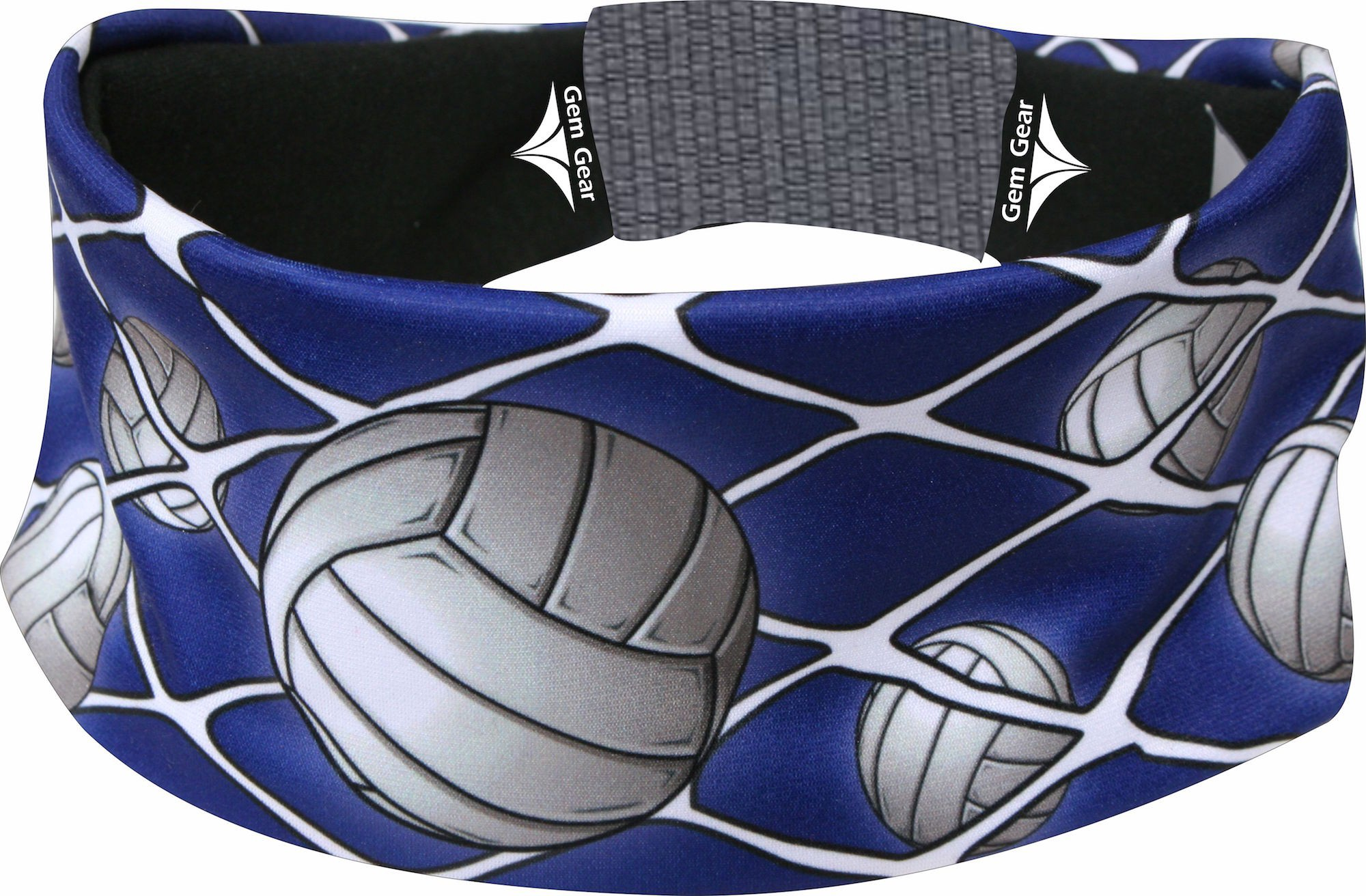 Royal Blue Volleyball Head Band