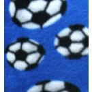 Royal Blue Soccer Pillowcase