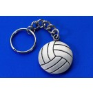 Pewter Ball Keychain