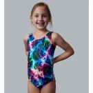 Metallic Lightning Tank Leotard