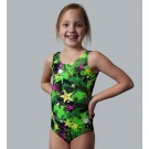 Star Pop Green Tank Leotard