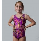 Purple Jungle Tank Leotard