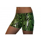 Green Metallic Zebra
